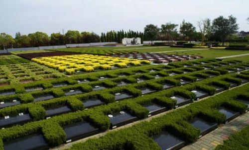 上海墓地积极推进节地葬式
