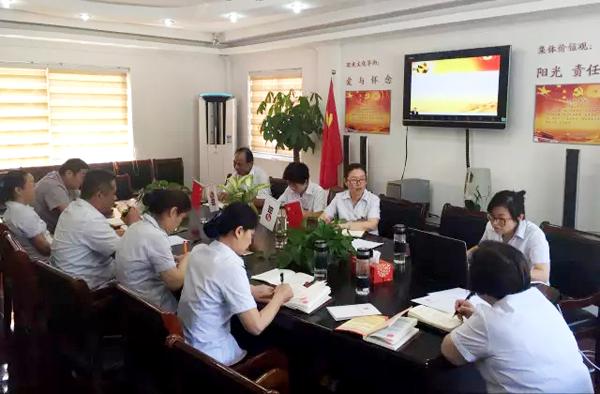 上海寝园墓地党支部举行专题党课
